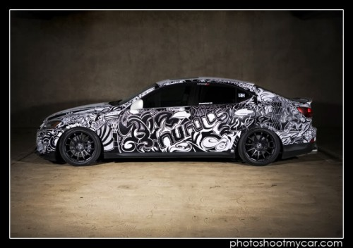 Sharpie Art Cars and Bikes Make You Want to Draw on Your Transportation #sharpiesquad IMG 6538acopy 500x352 