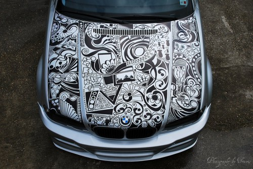 attachment 500x334 sharpie art cars and bikes make you want to draw on your transportation