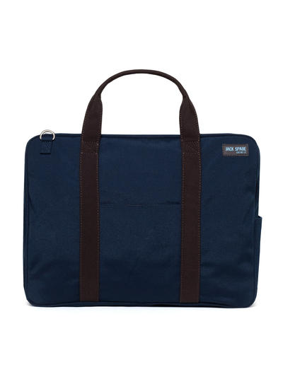 canvas briefcase Come to the office with Jack Spade