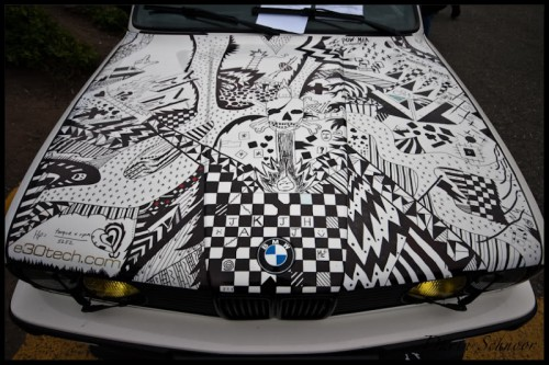 Sharpie Art Cars and Bikes Make You Want to Draw on Your Transportation #sharpiesquad dopeasshood 500x333 