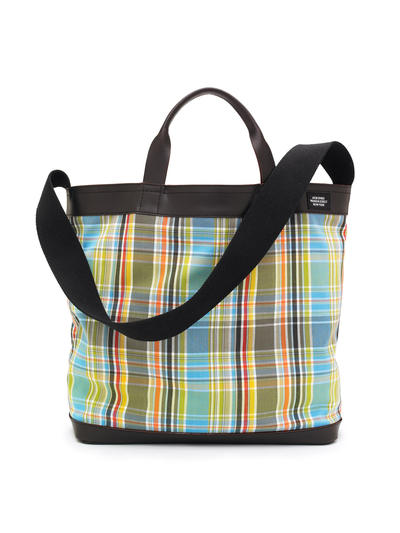 madras tote Come to the office with Jack Spade