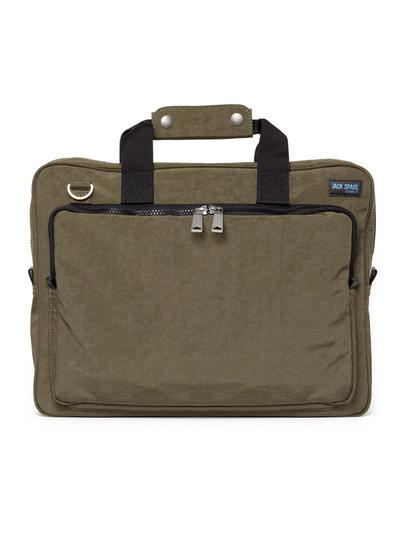 softnylon briefcase Come to the office with Jack Spade