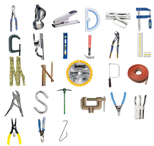 tool font The ABCs in Tools