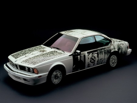 Sharpie Art Cars and Bikes Make You Want to Draw on Your Transportation #sharpiesquad windowslivewriterbmwartcars d9fb1986 bmw 635 csi art car robert rauschenberg sa 1600x1200 5 