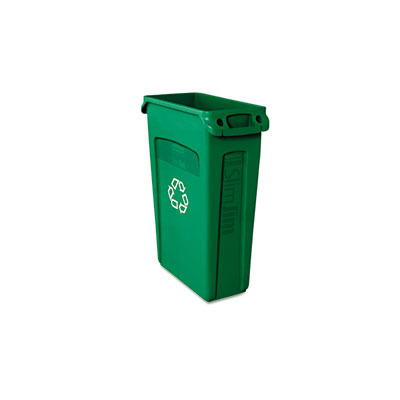 RUB354007GN 1 2 Trash Cans   Can Look Nice