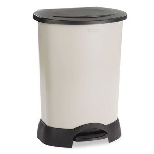 RUB614700LPLAT 1 1 Trash Cans   Can Look Nice