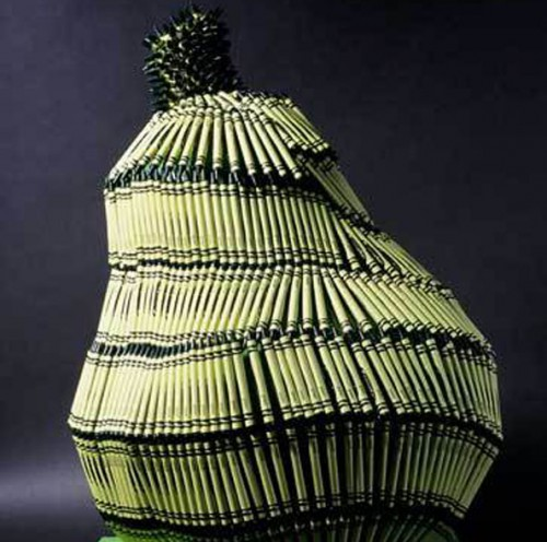 colorful crayon sculptures herb williams4 500x496 herb williams is the crayon master