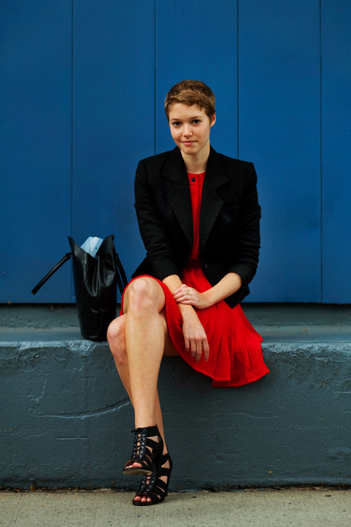 9139Reddress9453Web The Sartorialist: Get Creative with Office Fashion
