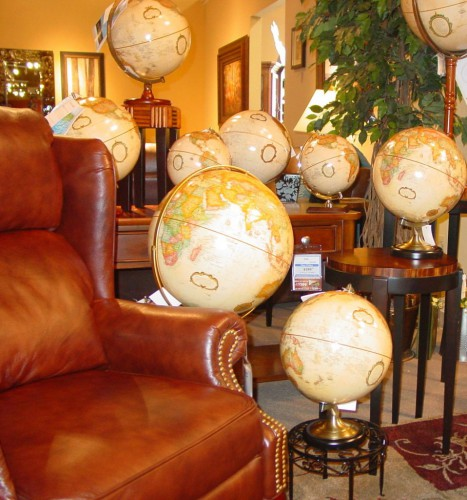 DEC Image 2 958x1024 467x500 around the world inspiration: globes in your office