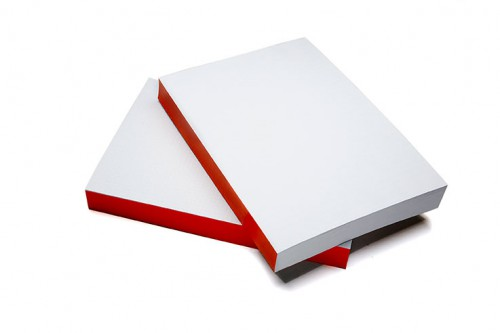 Whitelines writing paper and notebooks with white lines