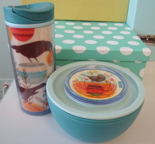Travel bowl and thermos 500x466 Yummy Office Lunch and Lunch Container Ideas