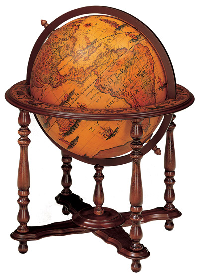 Z49 0 60 around the world inspiration: globes in your office
