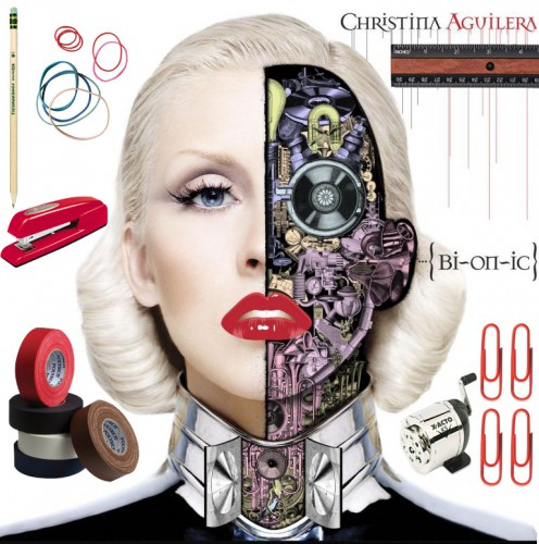 christina aguilera office supplies 496x500 elastic love   christina aguileras ode to office supplies