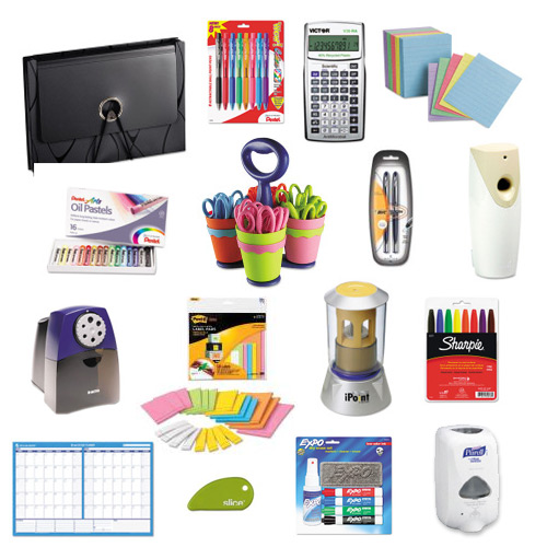prizes Celebrate the End of Summer with $100 of School Supplies!