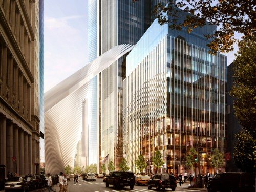 32 02 Tower2 Rendering 500x375 best new office space   the wtc