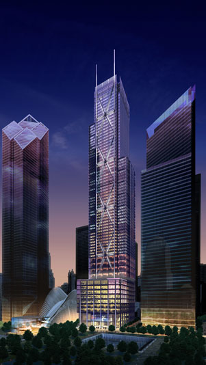 33 02 Tower3 Rendering best new office space   the wtc