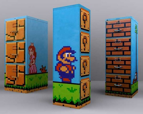 Super Mario Filing Cabinet 500x400 best of office weekend roundup 10