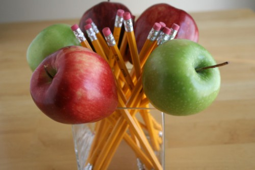 Teachers Apple Pencil Bouquet 500x333 best of office weekend roundup 11
