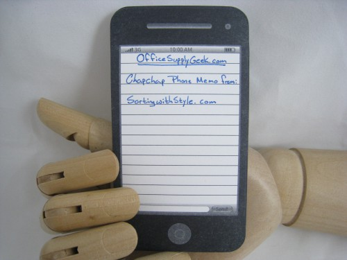 iPhone Sticky Note Writing 500x375 best of office weekend roundup 11
