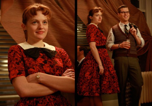 5 1edit 500x351 Mad Men Office Fashion
