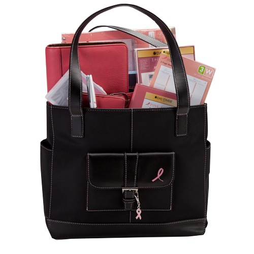 DayTimerPinkRibbon v2 win a Day Timer office organization prize pack for breast cancer awareness month