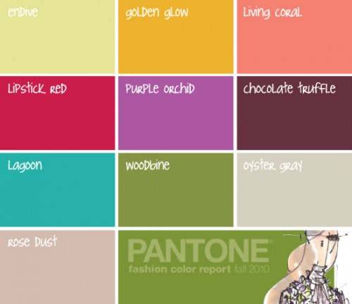 Fashion report Pantone Colors 500x432 best of office weekend roundup 16