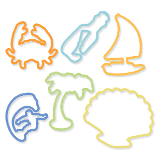 beach LRG 0 trendy office supplies >> silly bandz