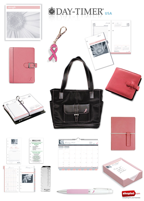 Pink office supply giveaway