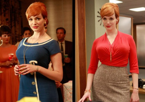 joan ep210 500x351 Mad Men Office Fashion