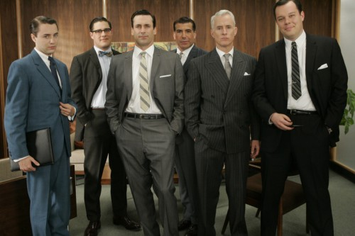 mad men 2 500x333 Mad Men Office Fashion