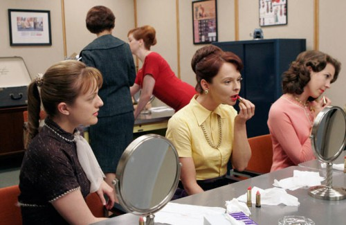 mad men girls 500x325 Mad Men Office Fashion