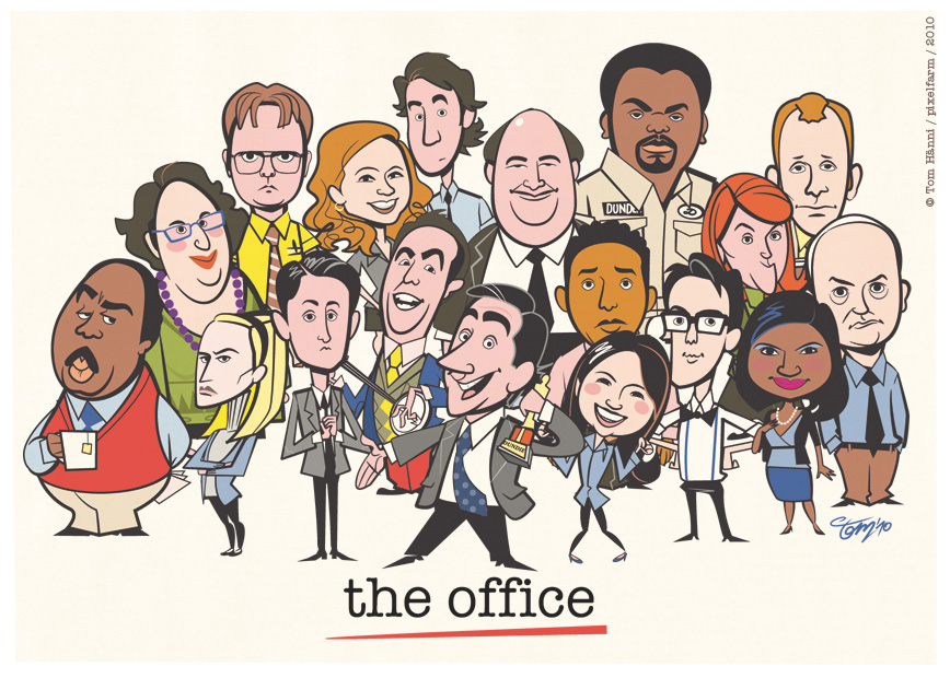 office_grouppose