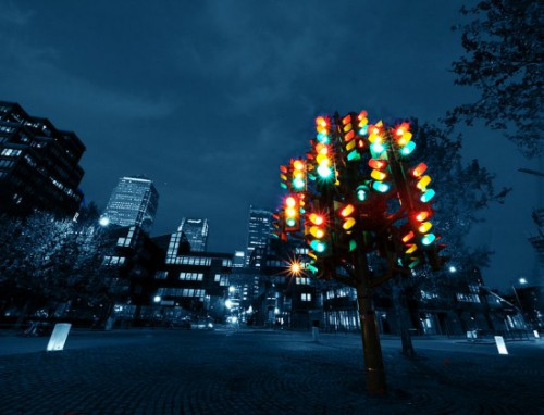 Traffic Light Tree 500x382 best of office weekend roundup 26