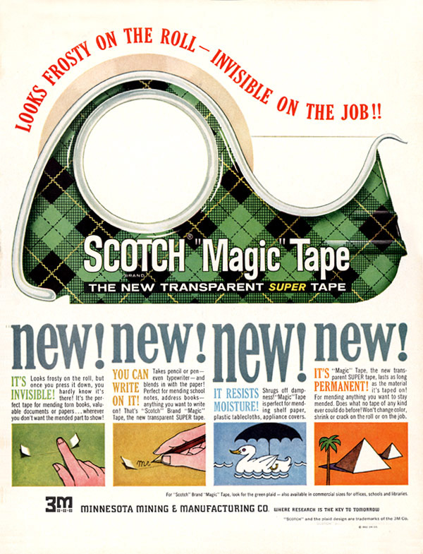scotch ad 2 scotch tape plaid