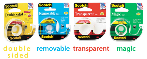 types-of-scotch-tape