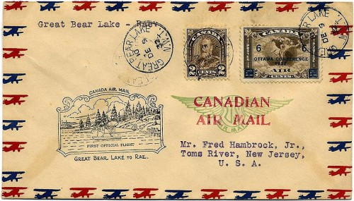 800px Cover Canada 1932 Rae air 500x285 airmail collection