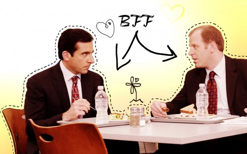 Michael and Toby the office 3324699 1280 800 500x312 best of office supplies weekend roundup 30