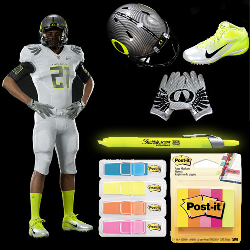 nike oregon duck uniforms oregon ducks highlighter uniforms