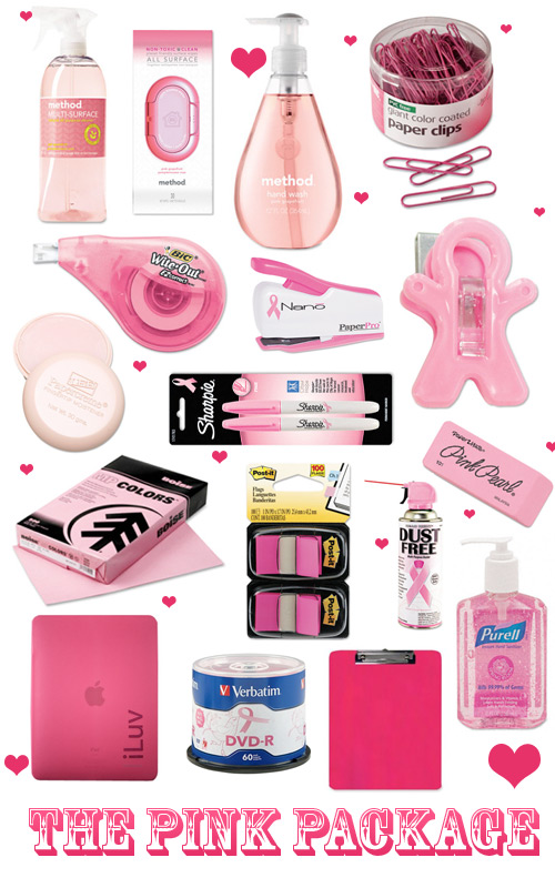 pink valentine office supplies Valentines Day Office Supplies Packages