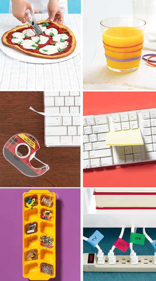 real simple office supplies ideas 2 real simple   new uses for office supplies