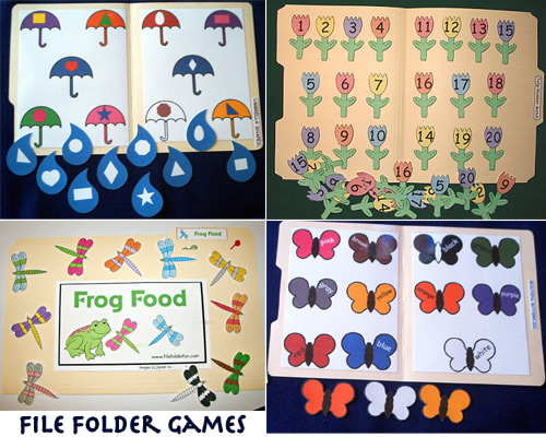 free file folder game templates - preschool file folder games quotes
