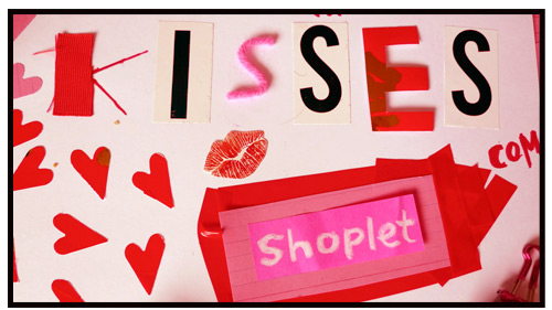 happy valentines day shoplet kisses Happy Valentines Day + Quiz!