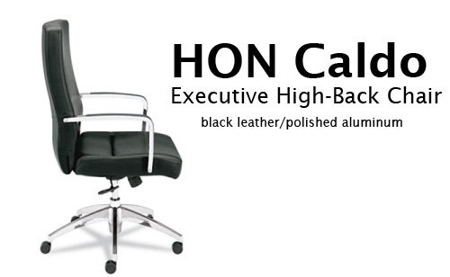 hon caldo chair Hon Caldo Executive Chair Giveaway