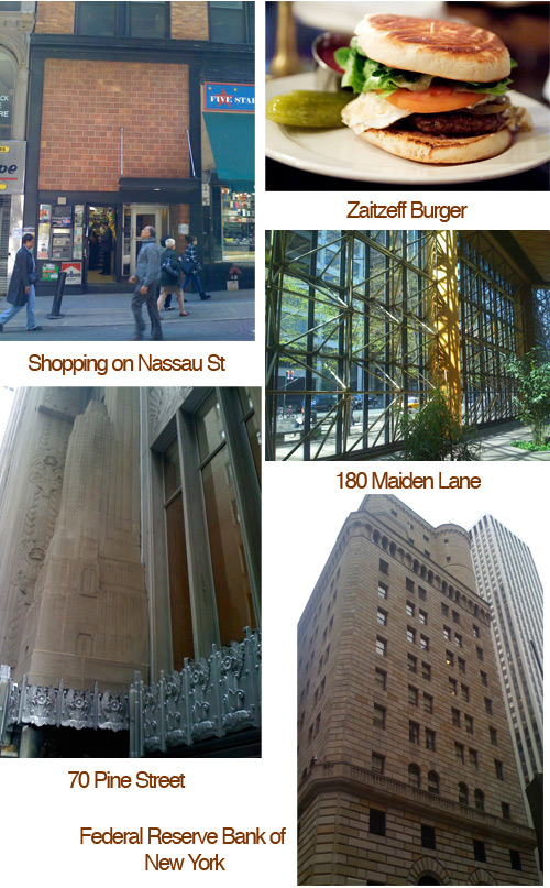 places to visit wall street area 2 Financial District Favorites