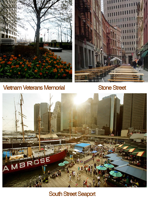 places to visit wall street Financial District Favorites