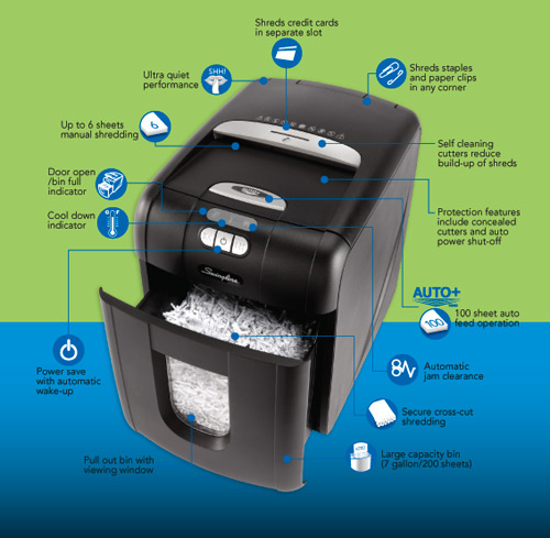 swingline stack and shred shredder New Product: Swingline Stack and Shred Shredder