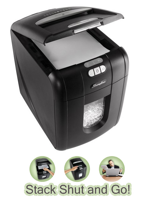 swingline stack shred New Product: Swingline Stack and Shred Shredder
