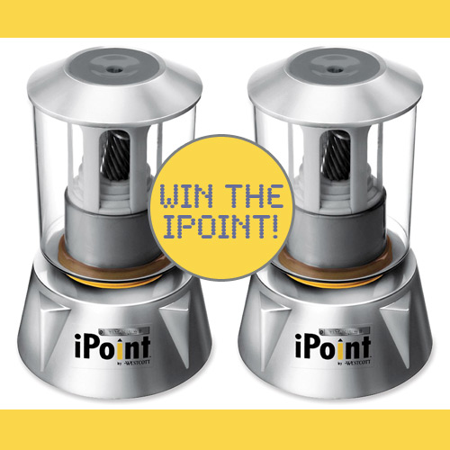 acme ipoint giveaway Two iPoint Electric Sharpeners to win!