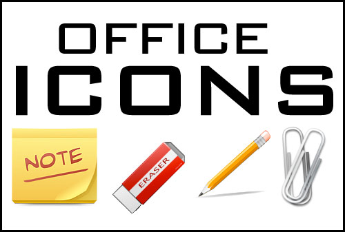 office supplies icons office icons