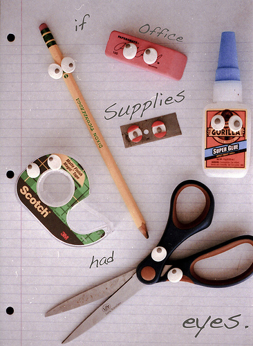 office supplies with eyes best of office weekend roundup 39